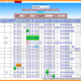 Job Scheduling Spreadsheet Regarding 12  Job Shop Scheduling Spreadsheet  Credit Spreadsheet