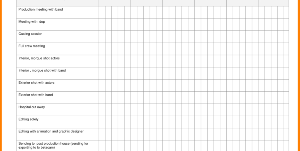Job Scheduling Spreadsheet Throughout 12  Job Shop Scheduling Spreadsheet  Credit Spreadsheet