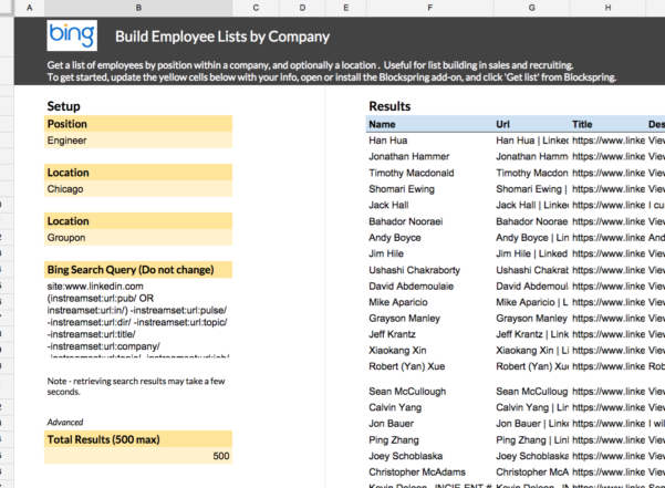 Job Search Spreadsheet Google Sheets Pertaining To Build Employee Listscompany  Spreadsheet Template In Google