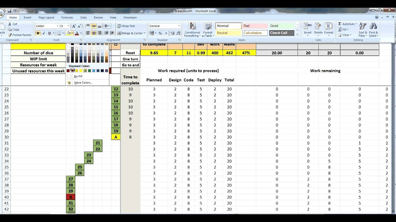 Kanban Excel Spreadsheet Inside Kanban Spreadsheet On How To Make An Excel Spreadsheet Google