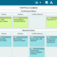 Kanban Excel Spreadsheet Template Regarding Scaling Agile With New Safe Templates  Leankit