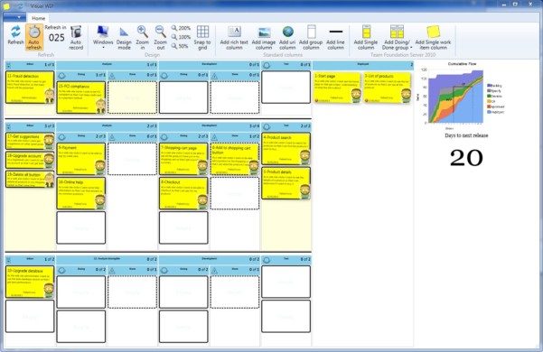 Kanban Spreadsheet Template Inside Free Kanban Card Template Excel  Austinroofing
