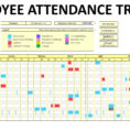 Keeping Track Of Employee Attendance Spreadsheet For Employee Attendance Records  Charlotte Clergy Coalition