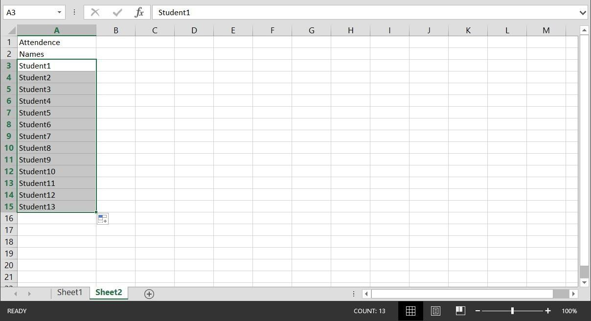 Keeping Track Of Employee Attendance Spreadsheet Throughout How To Create A Basic Attendance Sheet In Excel « Microsoft Office