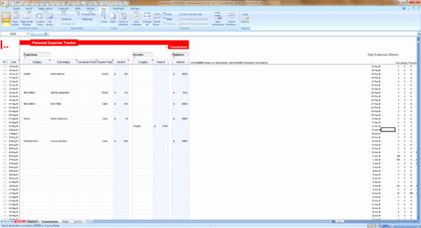 Keeping Track Of Expenses Spreadsheet Within Trackings Expenses Spreadsheet For Inspirational Excel How To Keep