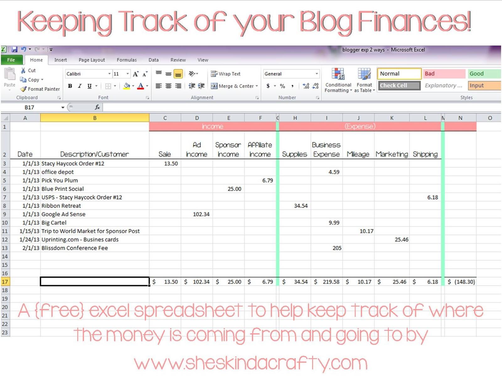Keeping Track Of Spending Spreadsheet Pertaining To Keeping Track Of Money Spreadsheet  Resourcesaver