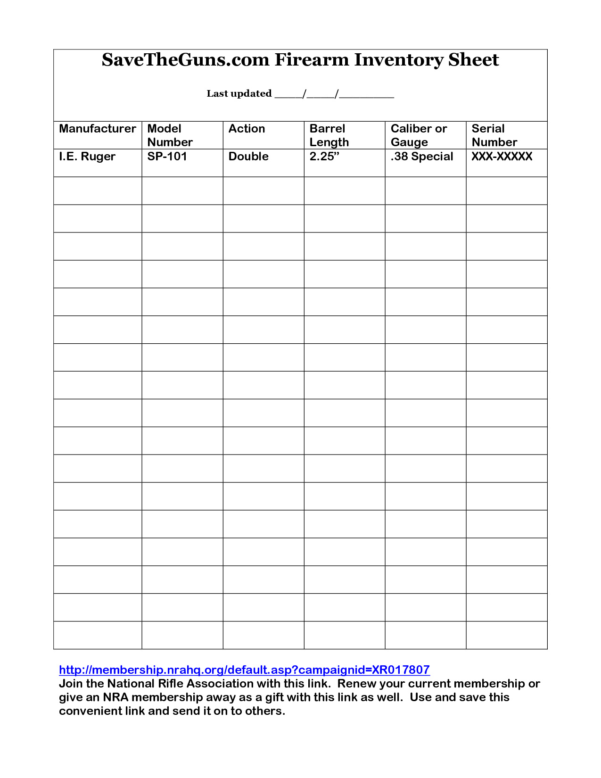 Keg Inventory Spreadsheet For Keg Inventory Spreadsheet – Spreadsheet Collections