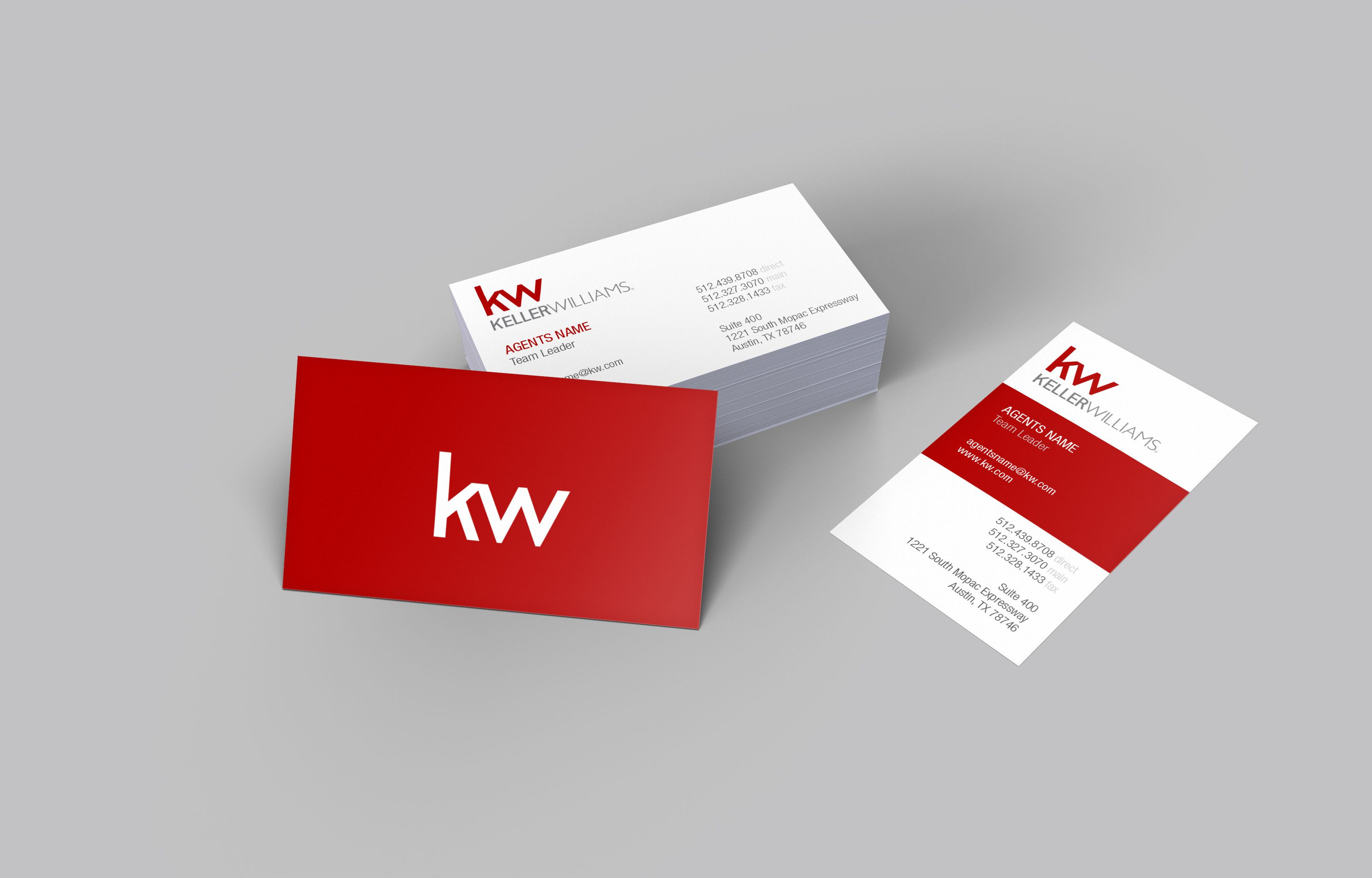 Keller Williams Business Plan Spreadsheet Regarding New Realtor Business Cards Templates  Kharazmii