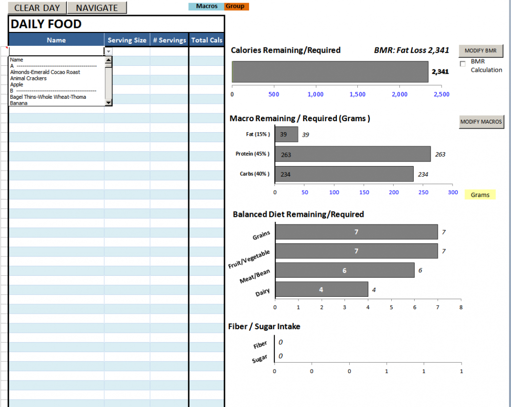 Keto Food Spreadsheet Intended For Excel Keto Diet Plan Sheet Paleo Spreadsheet Tracker Calorie Planner
