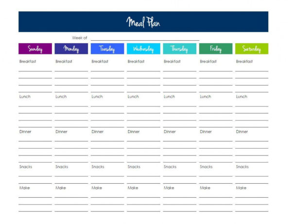 Keto Meal Plan Spreadsheet In 014 Meal Plan Template Excel Free ~ Ulyssesroom