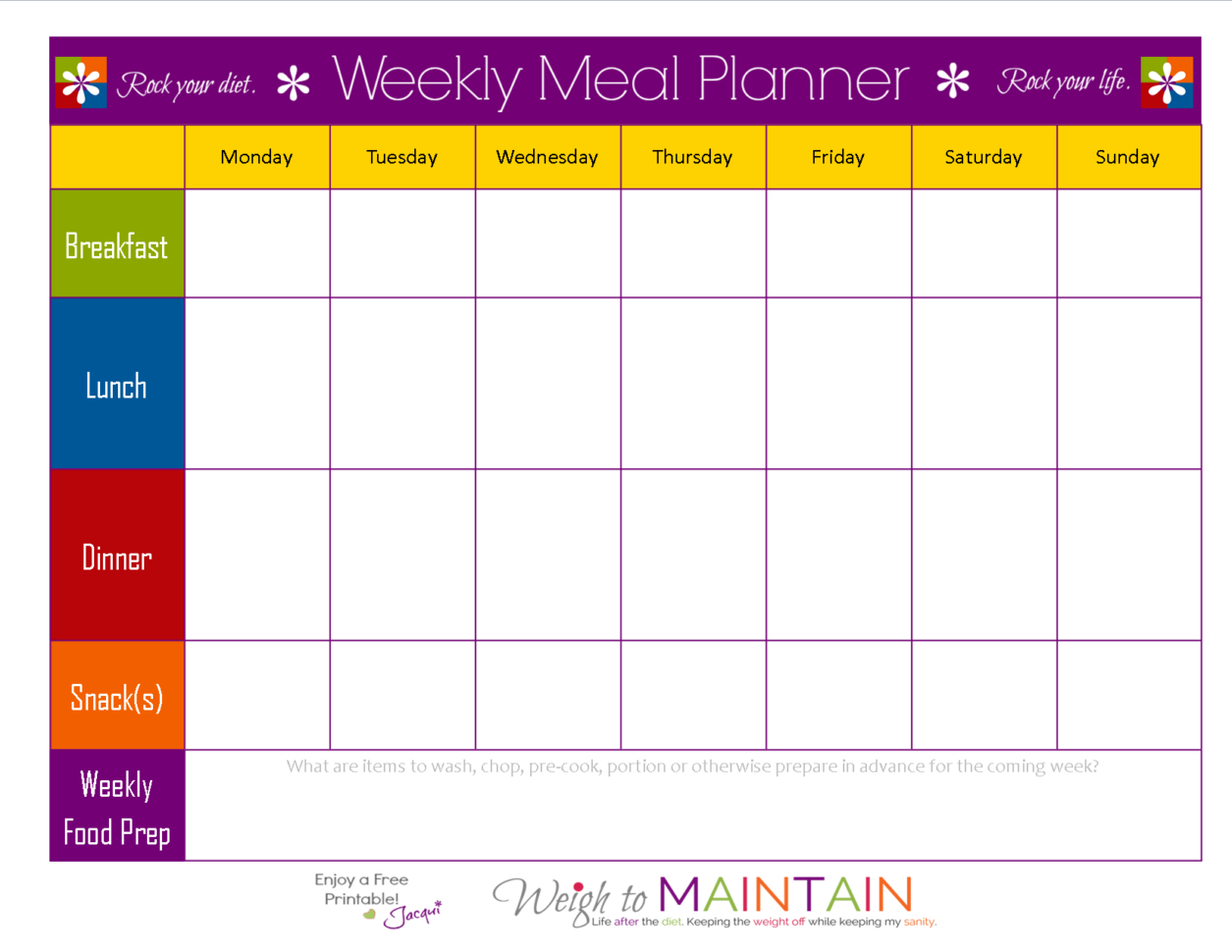 Keto Meal Plan Spreadsheet With Meal Planning So Simple Even A Gym Bro Can Do It – With Printables