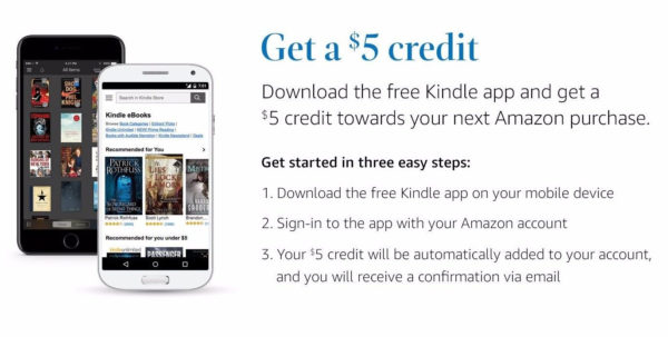 Kindle Spreadsheet App With Highly Ymmv] Amazon: $5 Credit For Downloading Free Kindle App