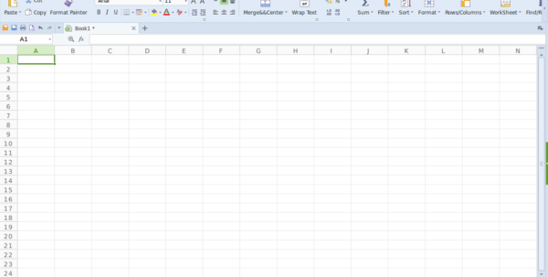 Kingsoft Spreadsheet With Regard To Kingsoftwps Office  Best Ms Office Alternative For Linux  Appdunia
