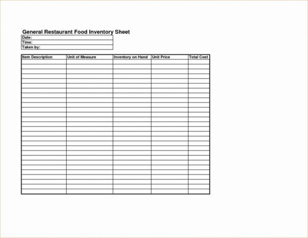 Kitchen Inventory Spreadsheet Excel In Spreadsheet Restaurant Kitchen Inventory Template Fresh Food