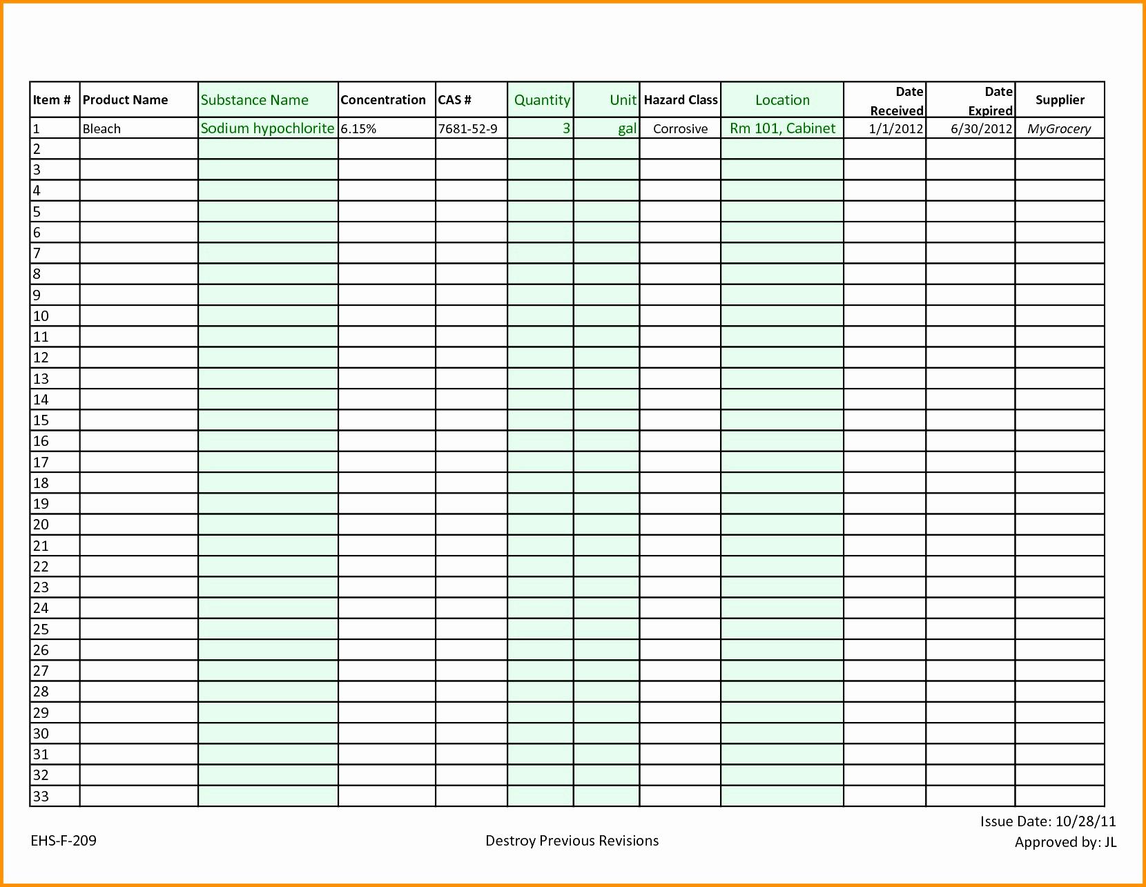 Kitchen Inventory Spreadsheet Excel Throughout Restaurant Kitchen Inventory Template Fresh Restaurant Inventory