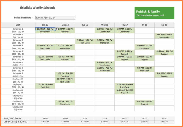 Labor Hour Tracking Spreadsheet With Regard To Hourly Schedule Template Excel Fresh Labor Hour Tracking Spreadsheet