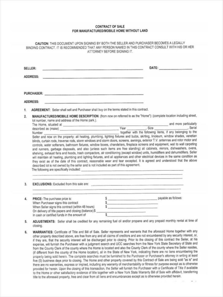 Land Contract Payment Spreadsheet For Bill Of Sale Contract Template Free Lovely 40 Best Sales Agreement