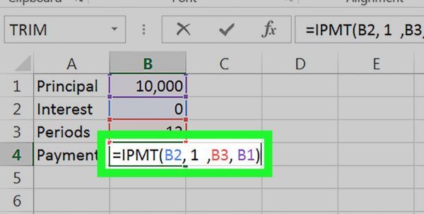 Land Contract Payment Spreadsheet Intended For How To Calculate An Interest Payment Using Microsoft Excel