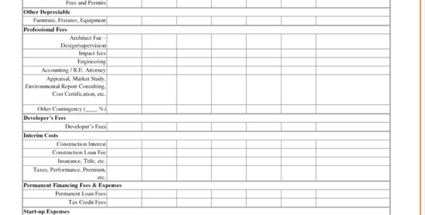 Land Development Cost Spreadsheet Intended For Food Cost Analysis Spreadsheet Spread Sheet Best Of Using Excel For Land Development Cost Spreadsheet Google Spreadsheet