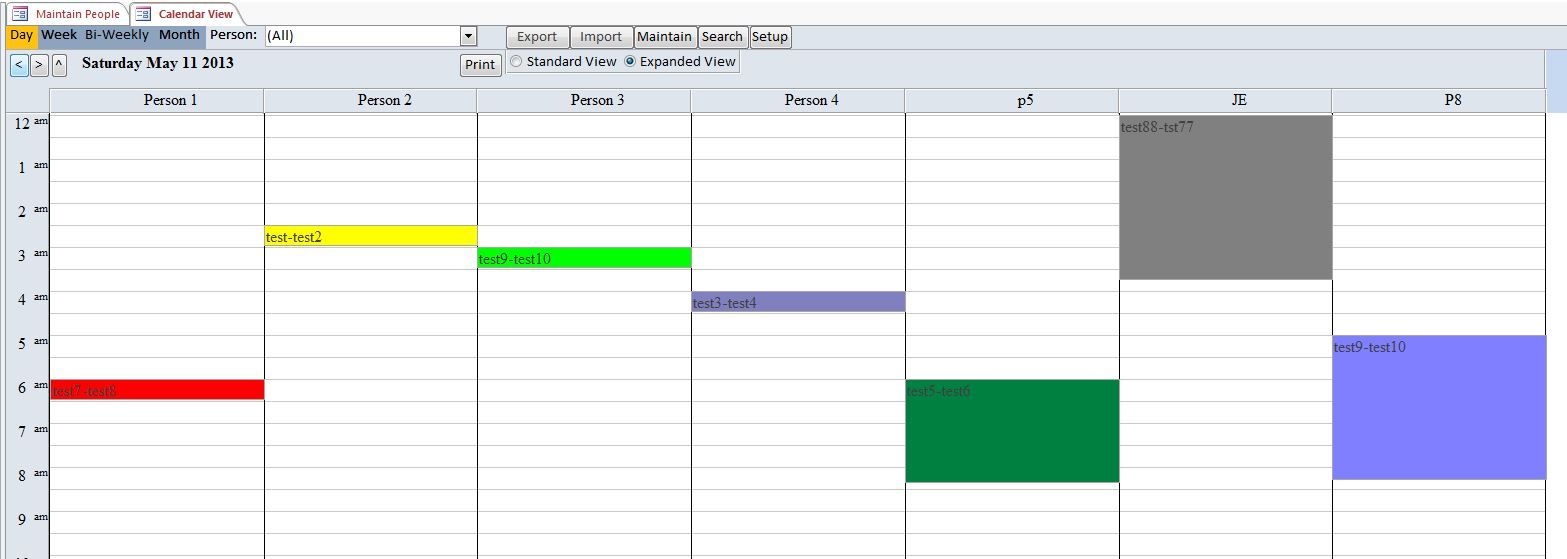 Lawn Care Schedule Spreadsheet Regarding Microsoft Access Mowing Lawn Care Database Template Outlook Style