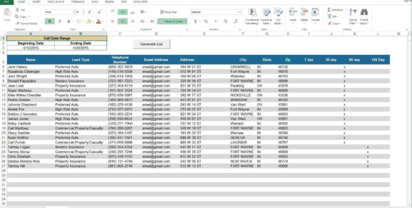 Lead Spreadsheet For Lead Tracking Spreadsheet Template Excel  Spreadsheet Collections