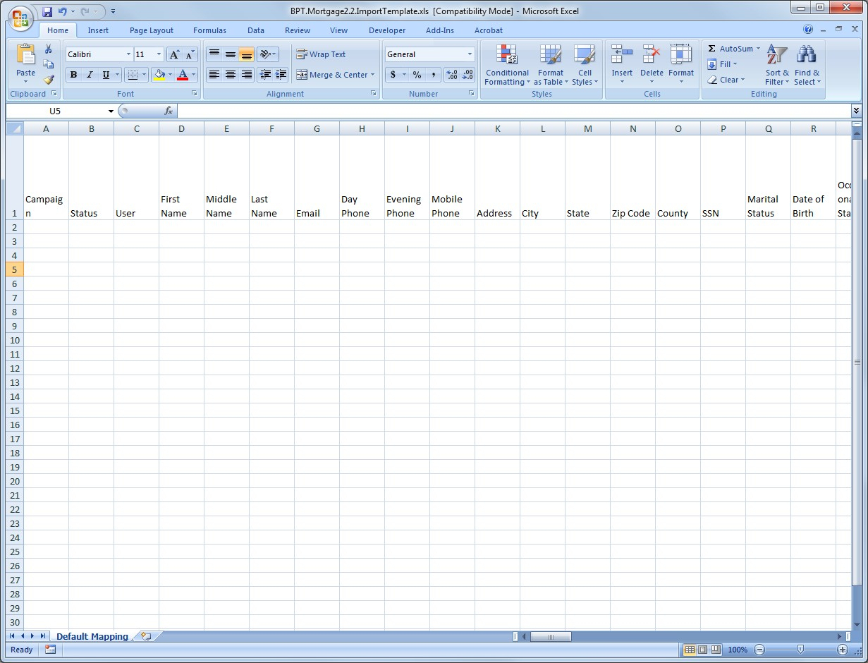 Lead Spreadsheet Intended For Leadmanager: How To: Import Leads From A Spreadsheet – Velocify