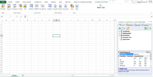 Learning To Use Excel Spreadsheets For Getting Started With Machine Learning In Ms Excel Using Xlminer