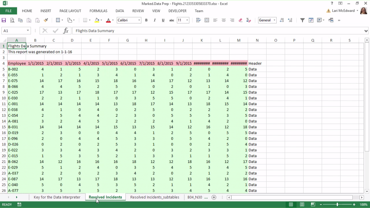 Learning To Use Excel Spreadsheets Inside Data Prep With Text And Excel Files