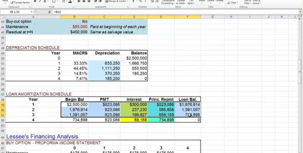 Lease Calculator Excel Spreadsheet Within Car Lease Calculator Excel  Rent.interpretomics.co