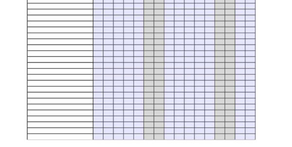 Leave Of Absence Tracking Spreadsheet In 40  Free Attendance Tracker Templates [Employee, Student, Meeting] Leave Of Absence Tracking Spreadsheet Spreadsheet Download
