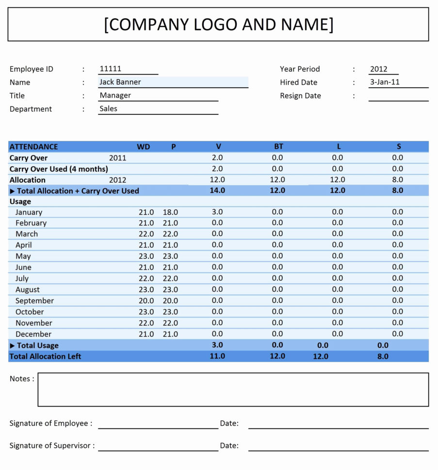 Leave Tracking Spreadsheet Pertaining To Employee Vacation Tracker Template Luxury Leave Tracking Spreadsheet