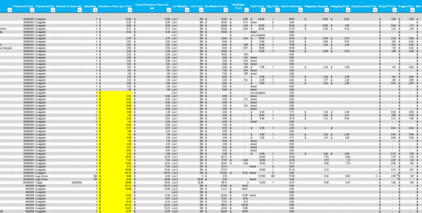 Lego Parts Inventory Spreadsheet With Regard To Parts Tracking Spreadsheet Lego Inventory Onlyagame Excel Populated