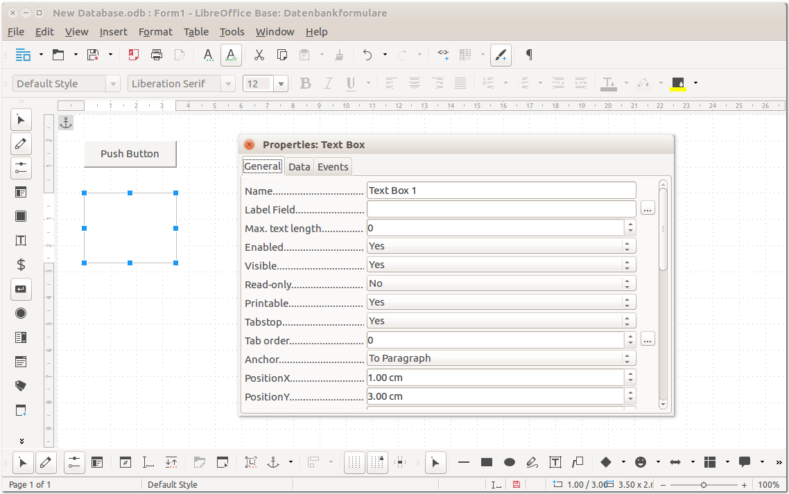 Libreoffice Create Database From Spreadsheet Throughout Screenshots  Libreoffice  Free Office Suite  Fun Project