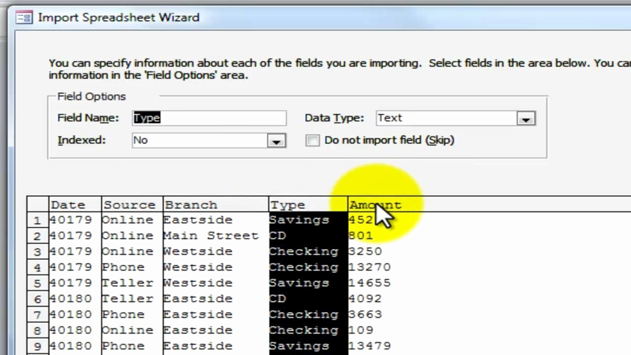 Link Excel Spreadsheets Intended For Convert Excel Spreadsheet To Access Database 2010 Or Link Excel To