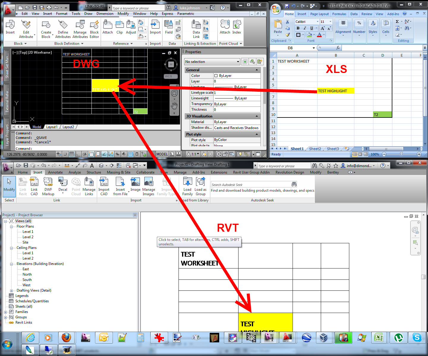 Link Excel Spreadsheets Throughout Link Excel Spreadsheet Data Into Revit » What Revit Wants