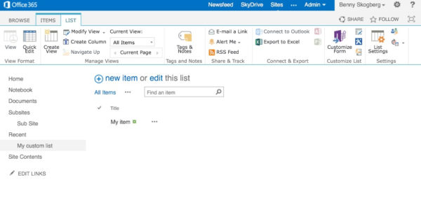 Linked Spreadsheets In Sharepoint Online Throughout Sharepoint Online  Export Custom List To Excel Using Workflow