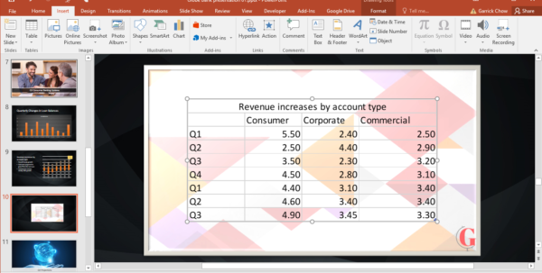 Linking Excel Spreadsheets For How To Embed A Linked Excel File Into Powerpoint Linking Excel Spreadsheets Payment Spreadsheet
