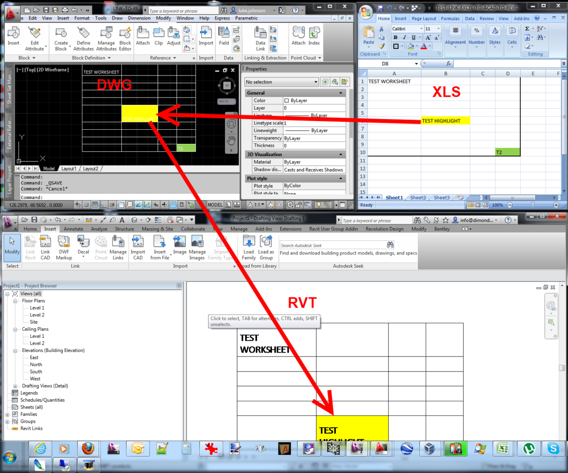 Linking Excel Spreadsheets With Regard To Link Excel Spreadsheet Data Into Revit » What Revit Wants