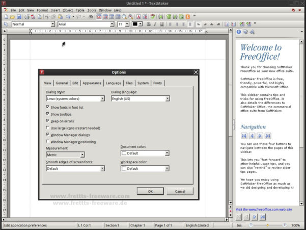 Linux Spreadsheet Software Inside Office  Text Processing, Spreadsheet  Co.