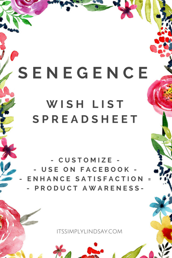 Lipsense Inventory Spreadsheet Within Senegence Wish List Spreadsheet  It's Simply Lindsay