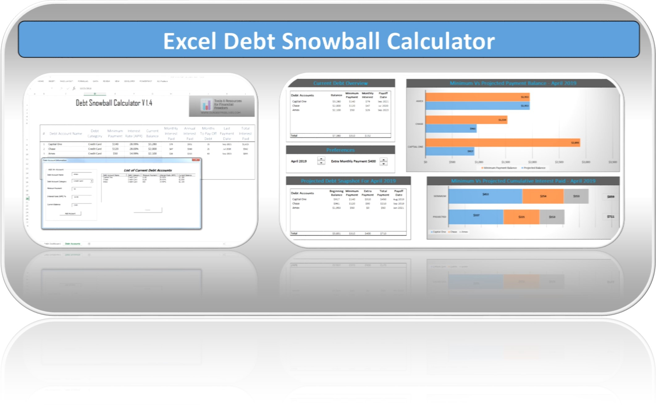 List And Spreadsheet Calculator With Regard To Debt Snowball Calculator Excel Spreadsheet  Debt Free To Early