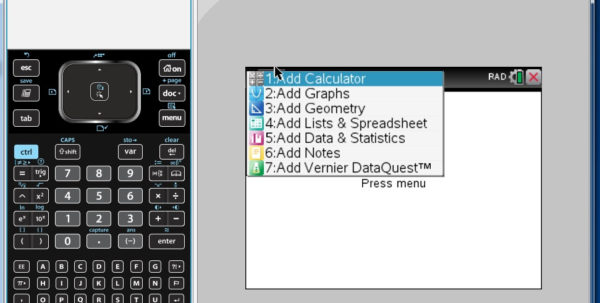 Lists And Spreadsheets Calculator For Using Tnspire To Make And Print Graphs  Statewide Vision Resource