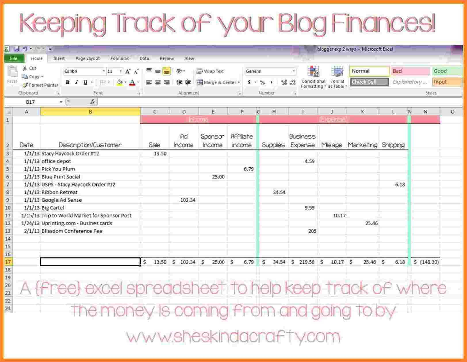 Livestock Inventory Spreadsheet Pertaining To Cattle Inventory Spreadsheet And 10 Personal In E And Expenses