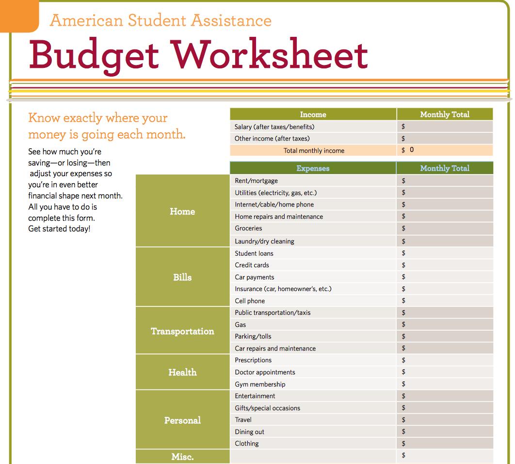 Living Budget Spreadsheet In Living Budget Spreadsheet Expenses Worksheet Assisted  Pywrapper