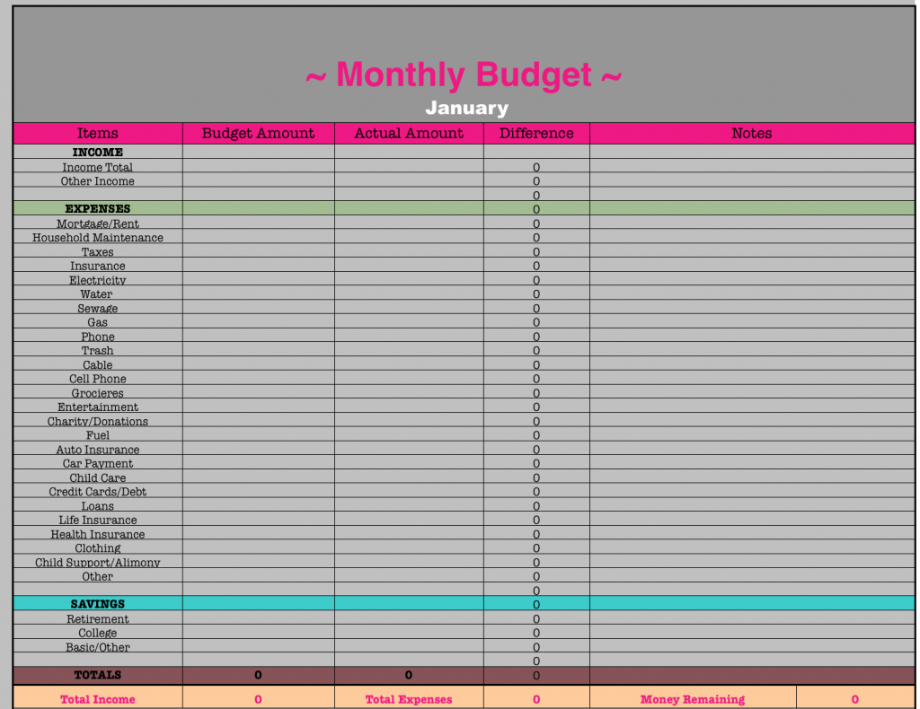 Living Budget Spreadsheet With Regard To Frugal Budget Worksheet Pictures Hd Fanaticing Build Printable