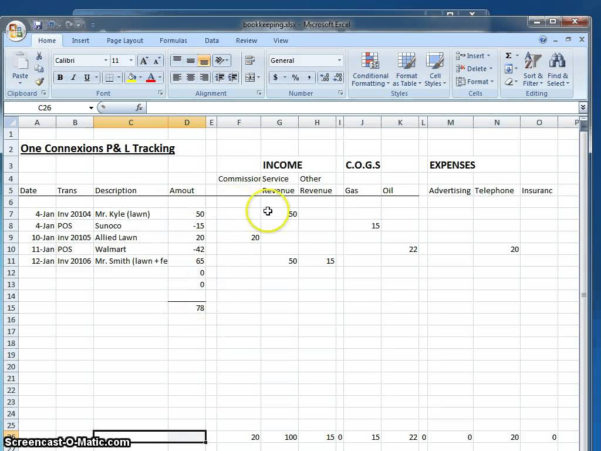 Llc Accounting Spreadsheet Pertaining To Llc Accounting Spreadsheet Sheet Free Tool For Independent