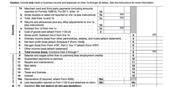 Llc Capital Account Spreadsheet Within How To Fill Out An Llc 1065 Irs Tax Form