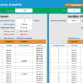Loan Amortisation Spreadsheet With Loan Amortisation Schedule  Excelsupersite