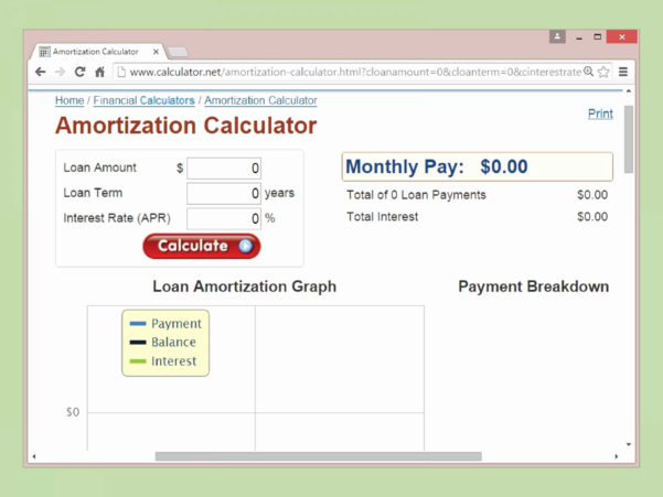Loan Amortization Spreadsheet Excel For Mortgage Calculator With Amortization Chart Elegant Car Spreadsheet
