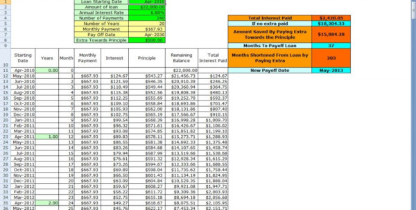 Loan Calculator Spreadsheet Intended For Loan Calculator  Us Collect A Coin